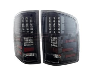 Stealth LED tail lights